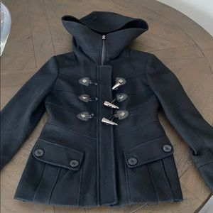 Black guess coat